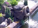 Water feature, Moreton, Oxfordshire